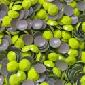 2mm NEON YELLOW Hot Fix Rhinestuds